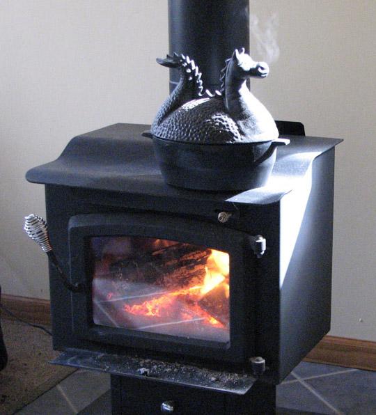 Dragon Steamer For Wood Stove 171 Rose Cottage Ltd