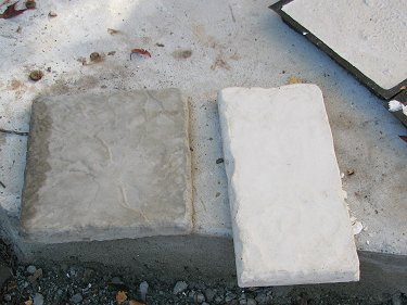 Homemade Paver Stone Colors